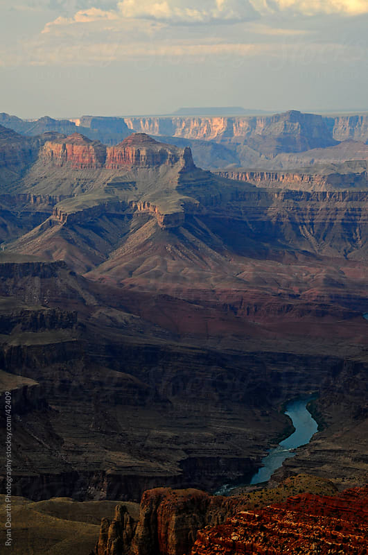 Colorado River and the Grand Canyon by Ryan Dearth Photography for Stocksy United