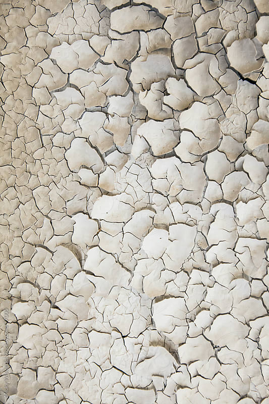 Cracked paint texture detail by Micky Wiswedel for Stocksy United