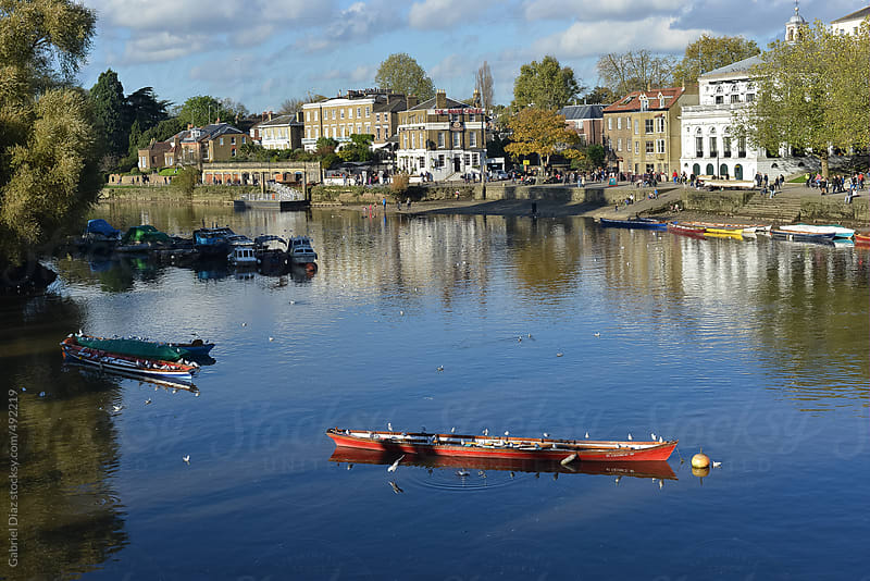 Thames River View between Kingston Upon Thames and Richmond by Gabriel Diaz for Stocksy United