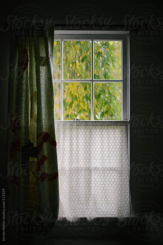 Window at fall by Kirstin Mckee for Stocksy United