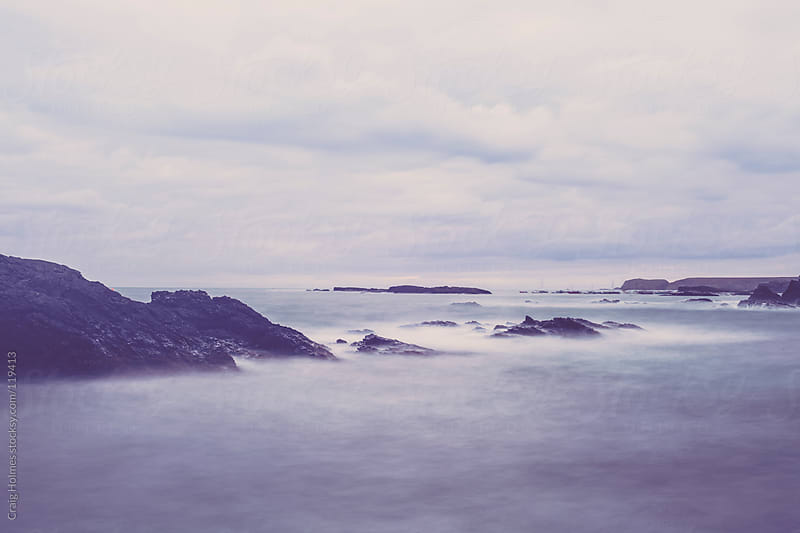 A Welsh seascape, taken at Trearddur Bay, Anglesey, Wales by Craig Holmes for Stocksy United
