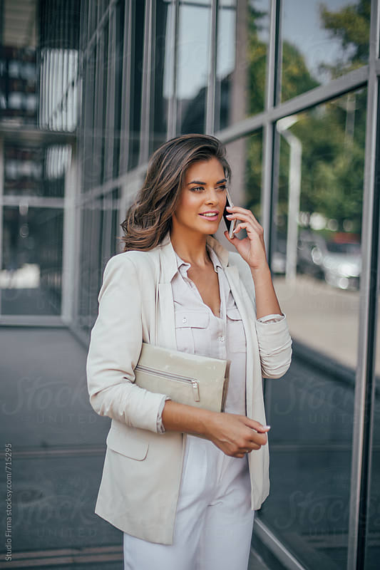 Series of a business woman in the city. by Dijana Tolicki for Stocksy United