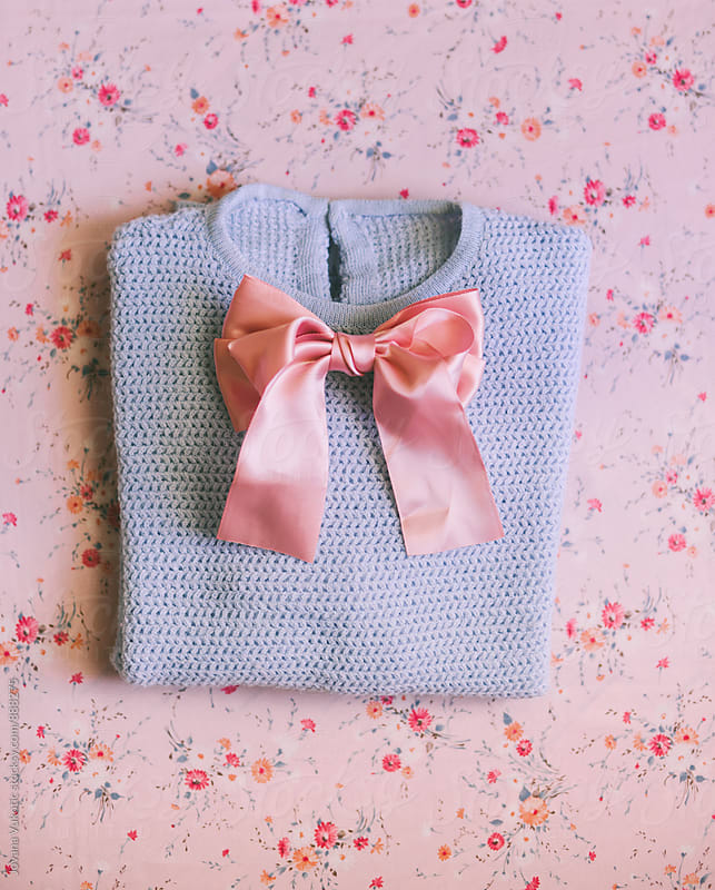Blouse and bow by Jovana Vukotic for Stocksy United