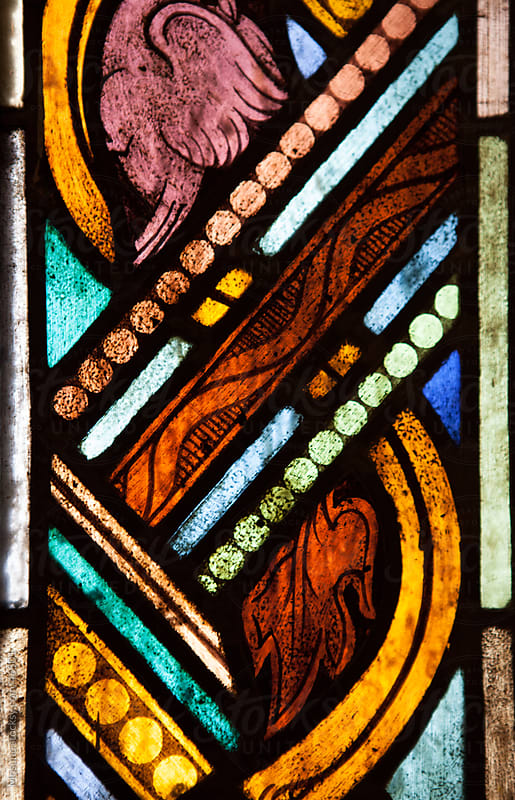 Beautiful stained glass.  by Mosuno for Stocksy United