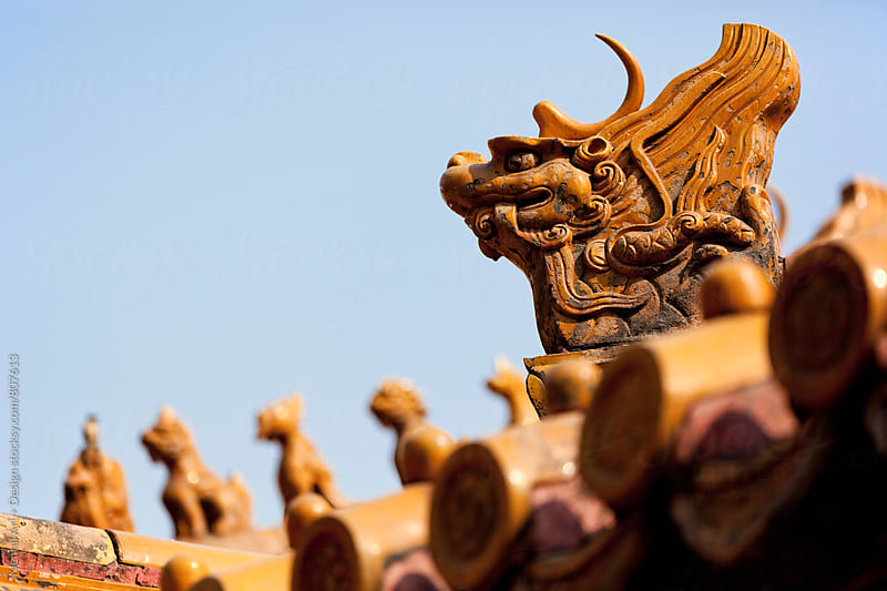 Forbidden City, Beijing, China  by Mental Art + Design for Stocksy United