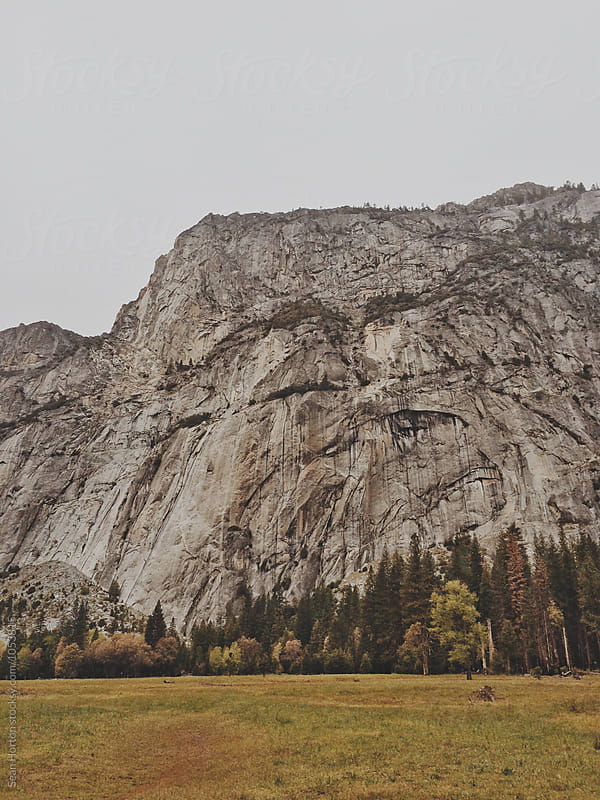 Yosemite Cliffs by Sean Horton for Stocksy United