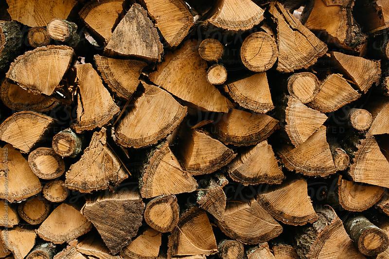 Firewood pile by Gabriel (Gabi) Bucataru for Stocksy United