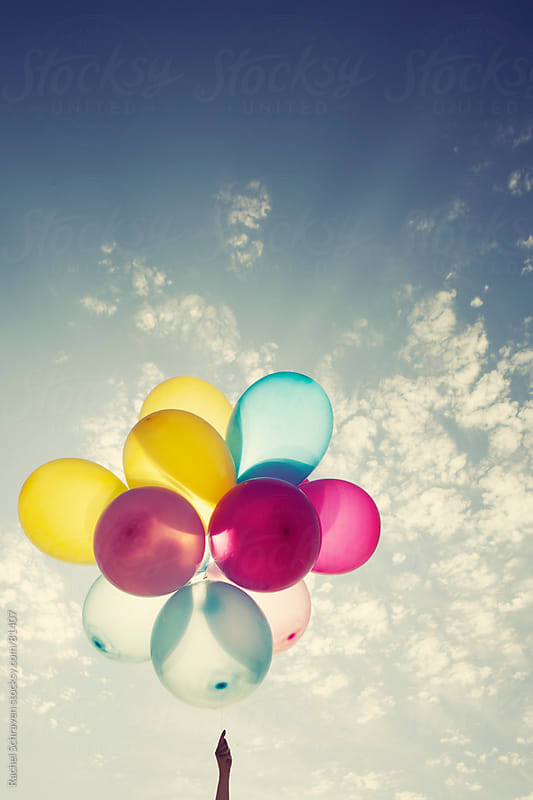 Balloons  by Rachel Schraven for Stocksy United