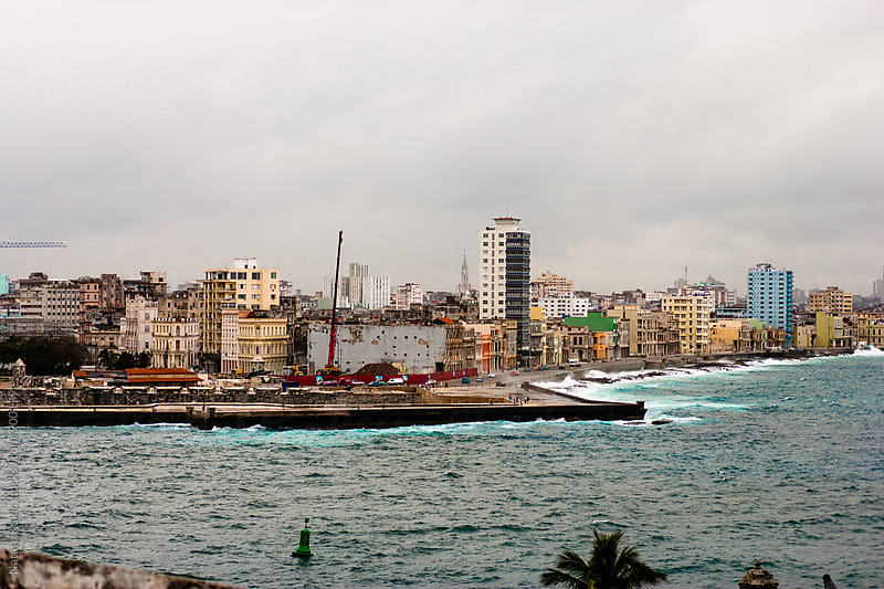 Landscapes of Havana and Malecon  by Natasa Kukic for Stocksy United