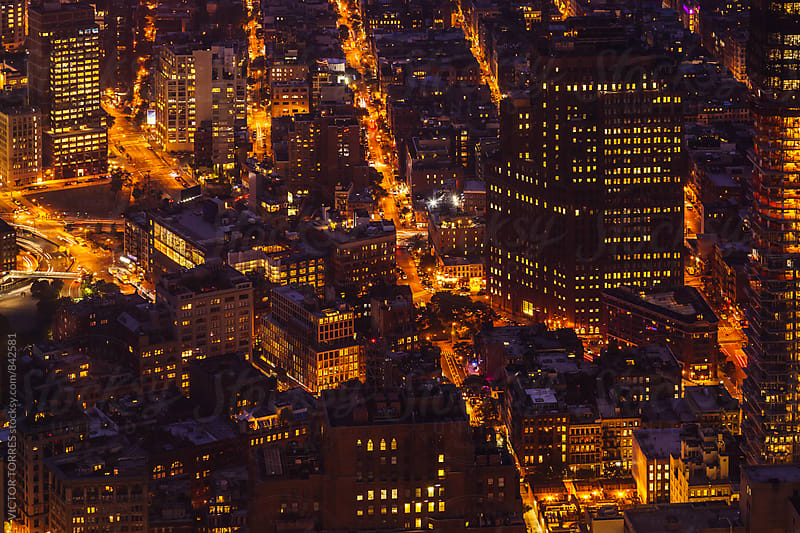 New York Streets by Night by Victor Torres for Stocksy United