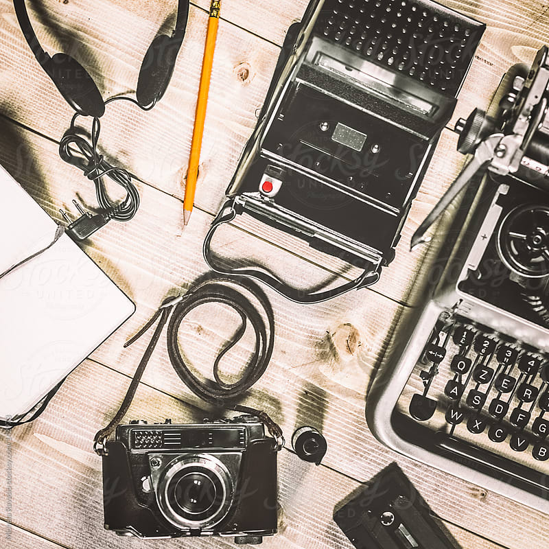 Photojournalist vintage objects by michela ravasio for Stocksy United
