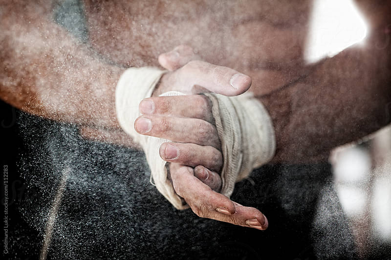 Hands of a Boxer by Goldmund Lukic for Stocksy United