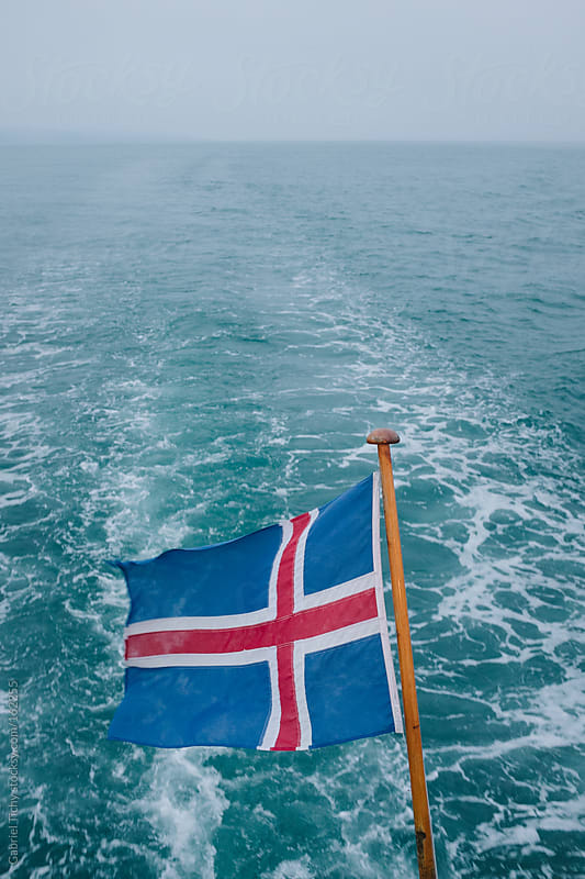 The flag of Iceland by Gabriel Tichy for Stocksy United