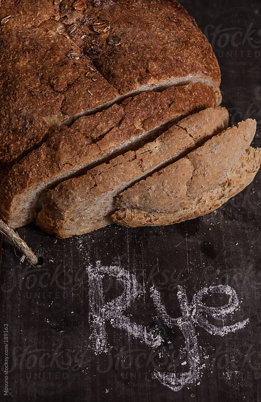 Rye Bread on the Table by Mosuno for Stocksy United