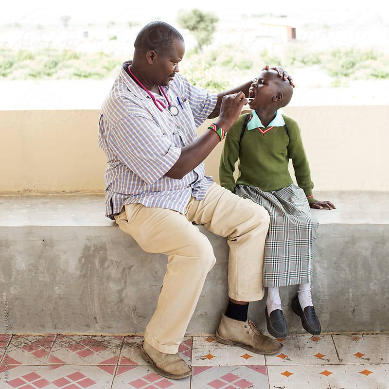 Medical Clinic. Kenya. Africa. by Hugh Sitton for Stocksy United