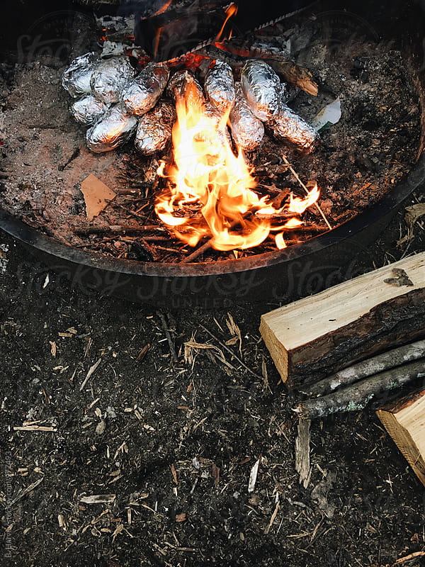 Camp Cooking by B. Harvey for Stocksy United