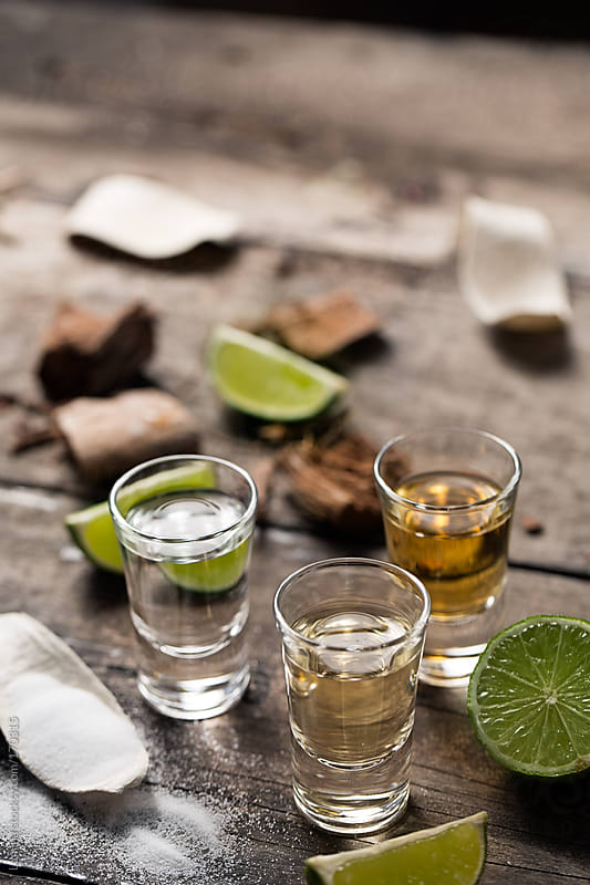 Tequila Shots by Lumina for Stocksy United