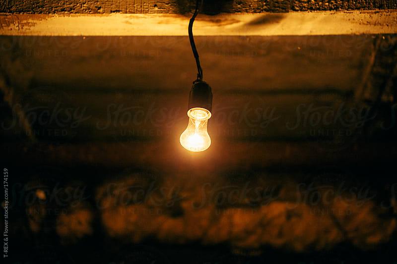 A dim light bulb by Danil Nevsky for Stocksy United