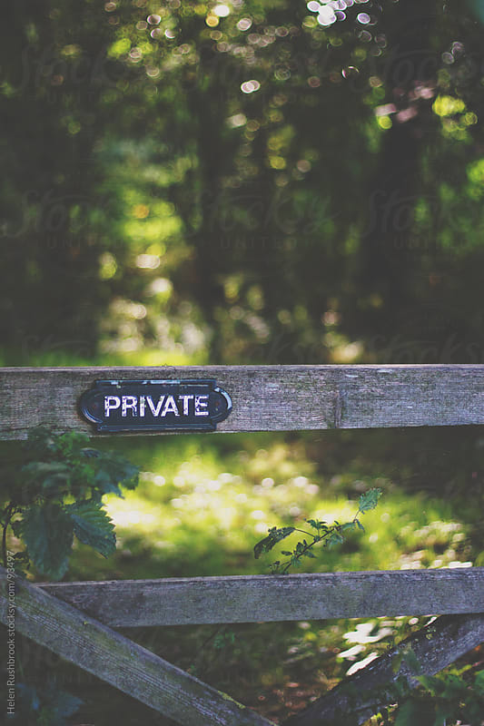 Private by Helen Rushbrook for Stocksy United