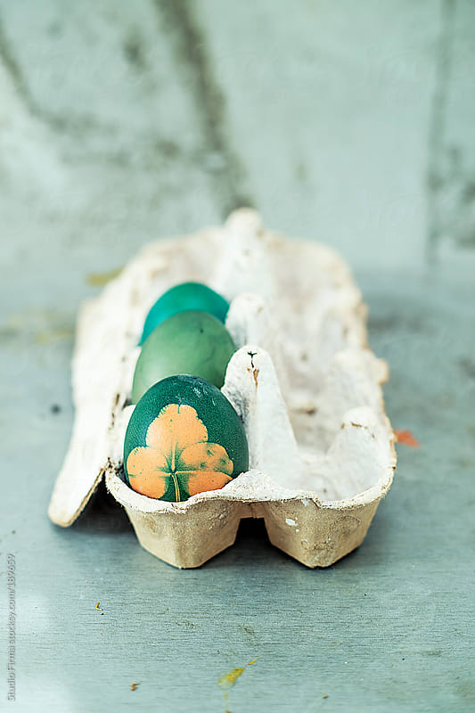 Rustic easter eggs by Studio Firma for Stocksy United