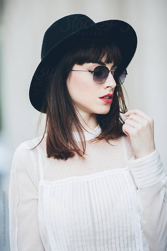 Stylish young woman portrait by Jovana Rikalo for Stocksy United