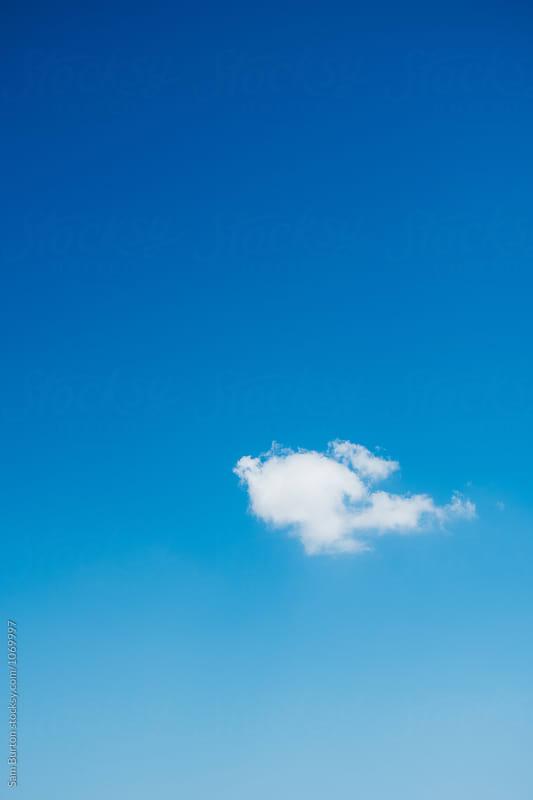 Single Cloud by Sam Burton for Stocksy United