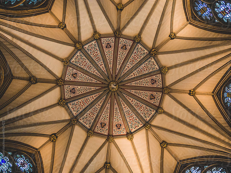 Church ceiling by Milena Milani for Stocksy United