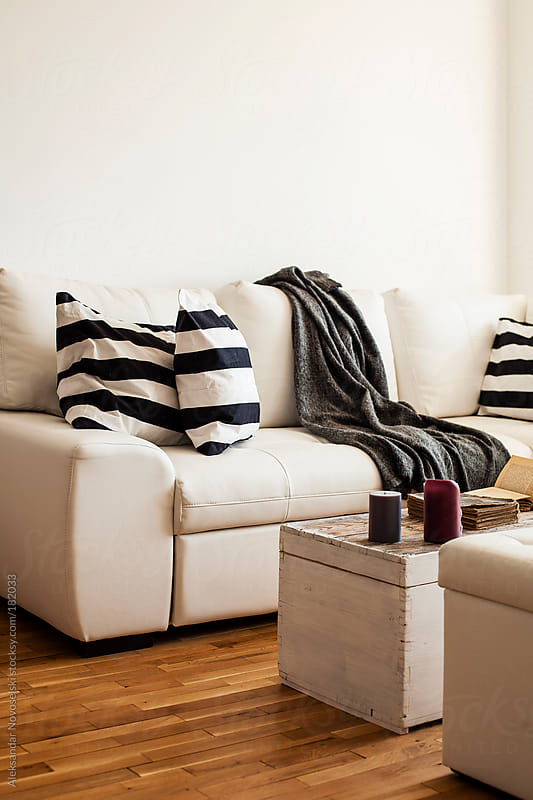 Cosy living room by Aleksandar Novoselski for Stocksy United
