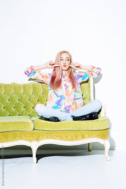 fun and colorful hippy chic by Brian Powell for Stocksy United