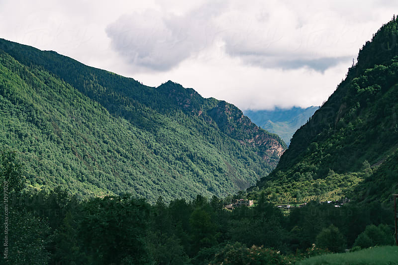Siguniang Mountain scenery,Sichuan,China by Miss Rein for Stocksy United