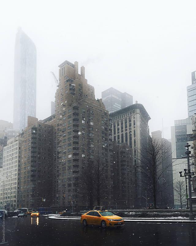 city life by Samantha Estrada for Stocksy United