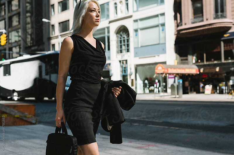 Stylish businesswoman in NY by GIC for Stocksy United