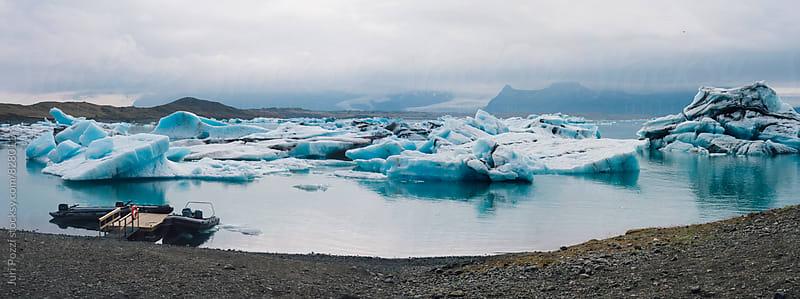 Iceberg in iceland by Juri Pozzi for Stocksy United