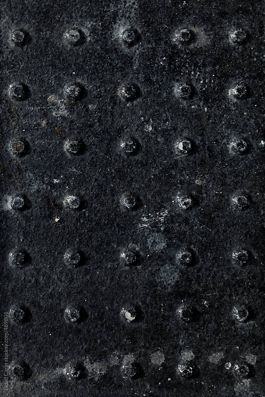Black Metal Surface Abstract by Eldad Carin for Stocksy United