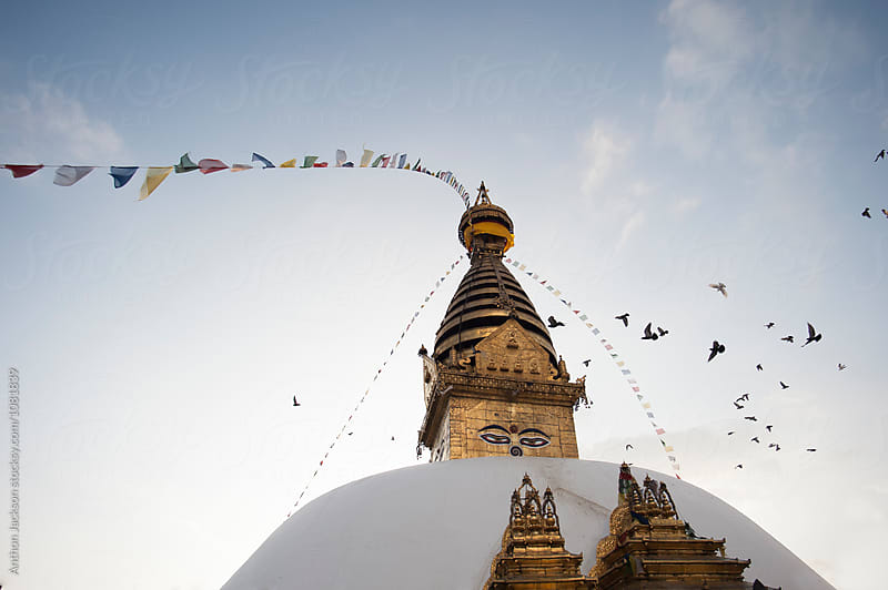 Swayambhunath by Anthon Jackson for Stocksy United
