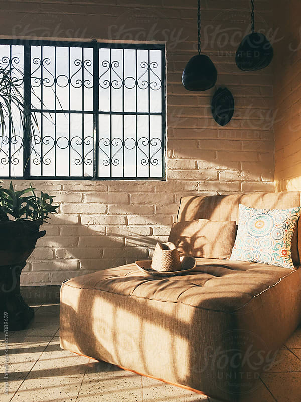 Afternoon sun inside apartment in Puerto Vallarta, Mexico by Jared Harrell for Stocksy United
