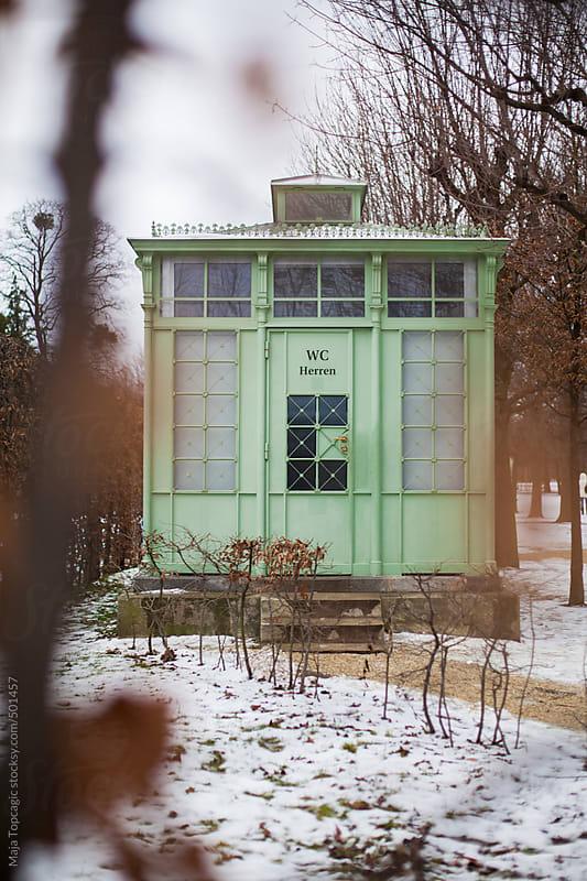 Vintage retro bathroom by Maja Topcagic for Stocksy United