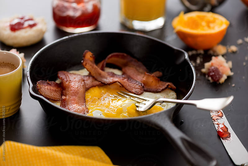 Bacon and Eggs by Jeff Wasserman for Stocksy United