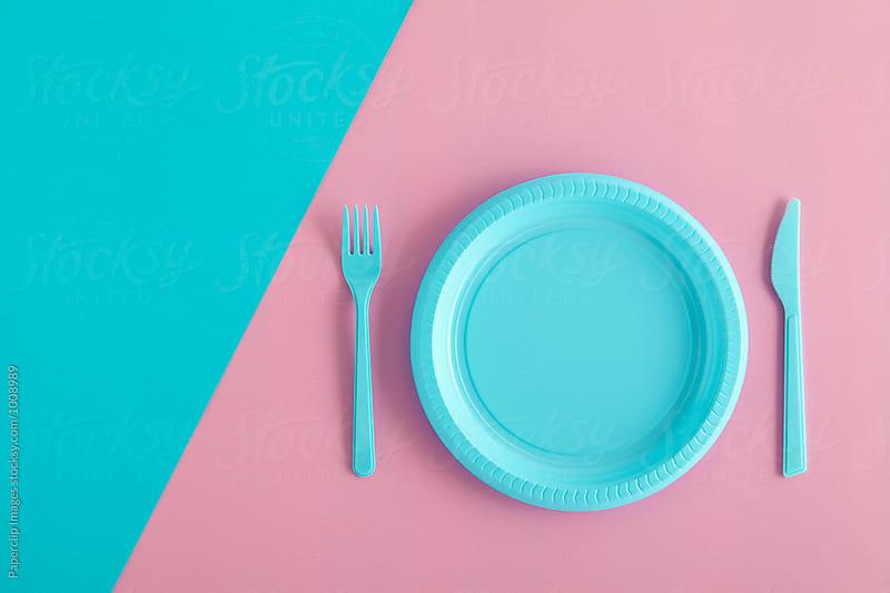 Minimalist table setting by Paperclip Images for Stocksy United