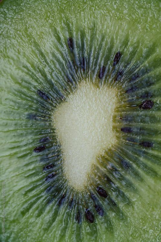 kiwi fruit macro by Xunbin Pan for Stocksy United