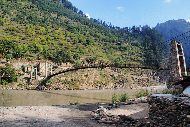 Neelum river  by Yasir Nisar for Stocksy United