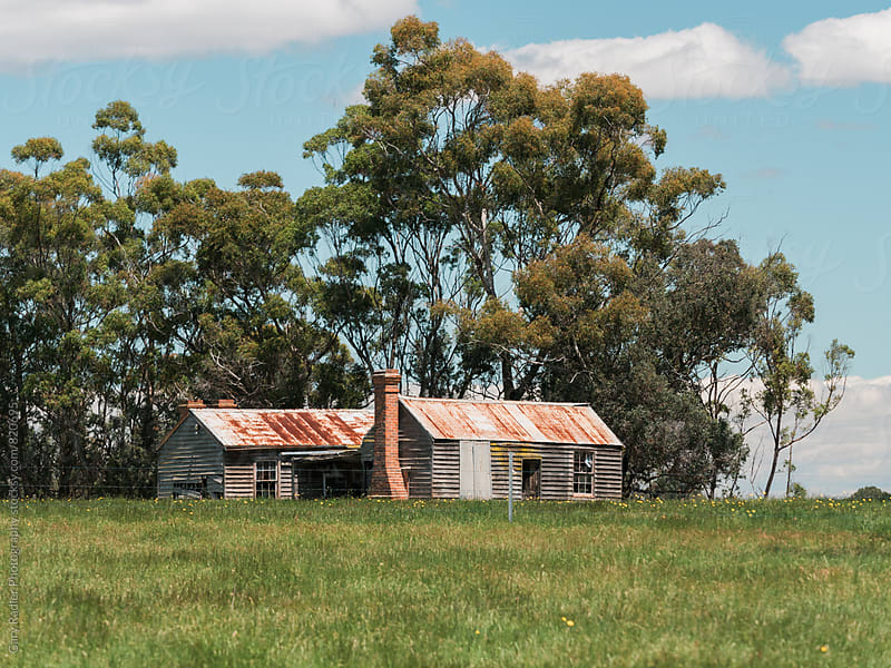 Old Farm Buildings in Australia by Gary Radler Photography for Stocksy United