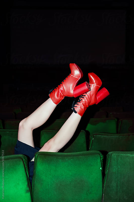 Red Boots by Katarina Radovic for Stocksy United