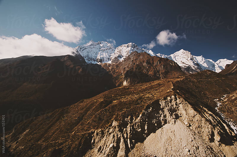 Dramatic Himalayan Vista, Nepal by WAA for Stocksy United