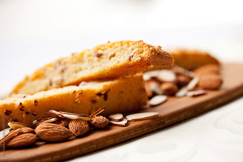 Biscotti: Crunchy Biscotti Ready to Eat by Sean Locke for Stocksy United