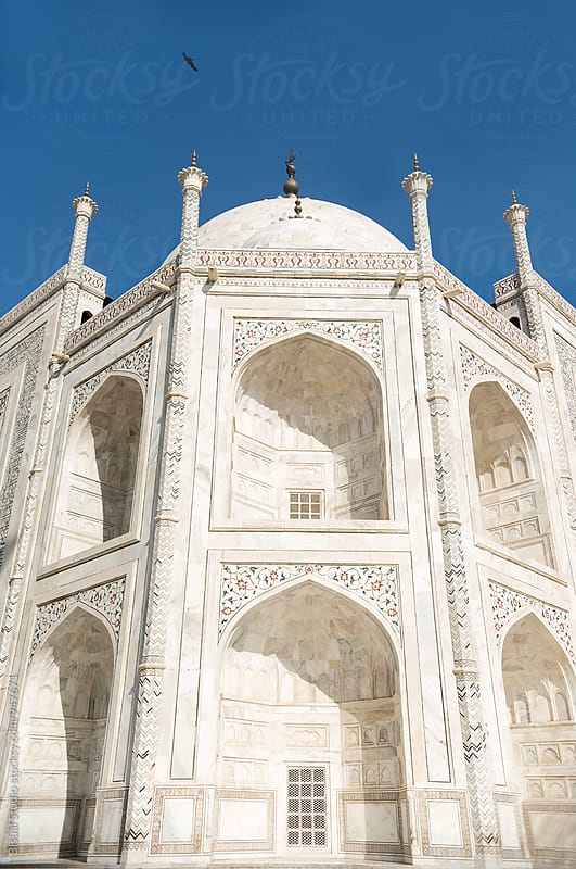 The Taj Mahal, India by Bisual Studio for Stocksy United