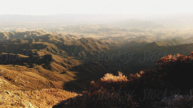 Southern Arizona Sunset Mountain Landscape by Kevin Russ for Stocksy United