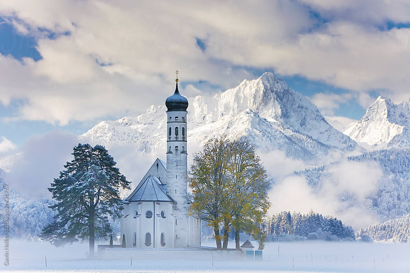Germany, Bavaria, Oberbayern, St Coloman Church by Gavin Hellier for Stocksy United