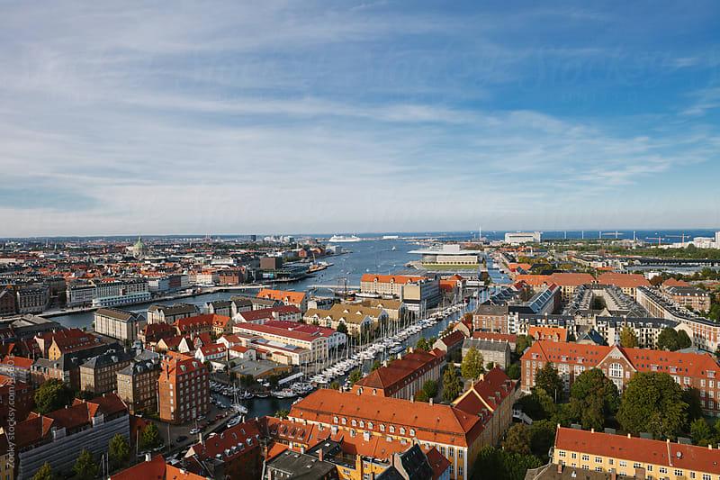 Copenhagen Cityscape by Zocky for Stocksy United