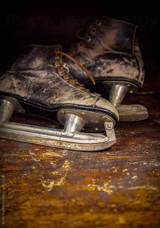 Rusting ice skates by alan shapiro for Stocksy United